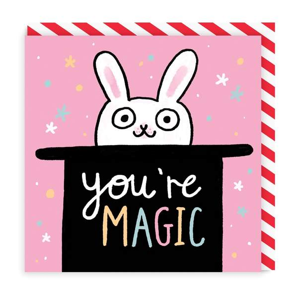 Youre Magic Square Greeting Card