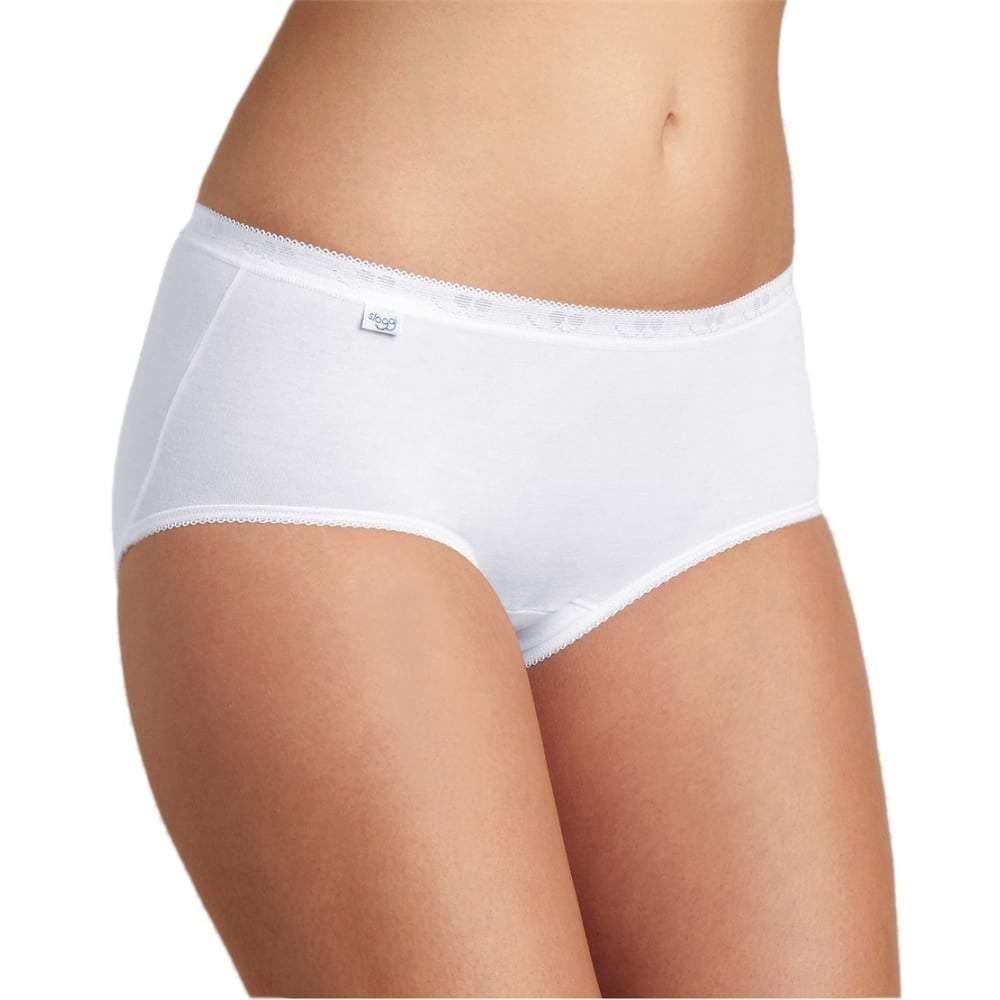 SLOGGI Women's Premium Comfort Tai 4 Pack Underwear White 7613142958219 - 10 White