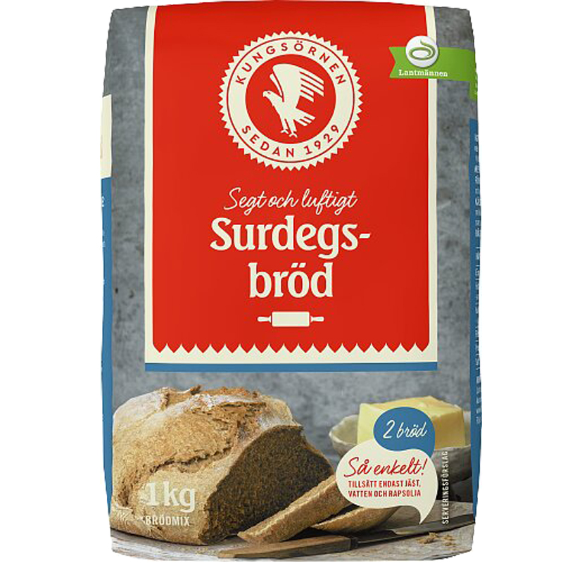 Bakmix Surdegsbröd - 25% rabatt
