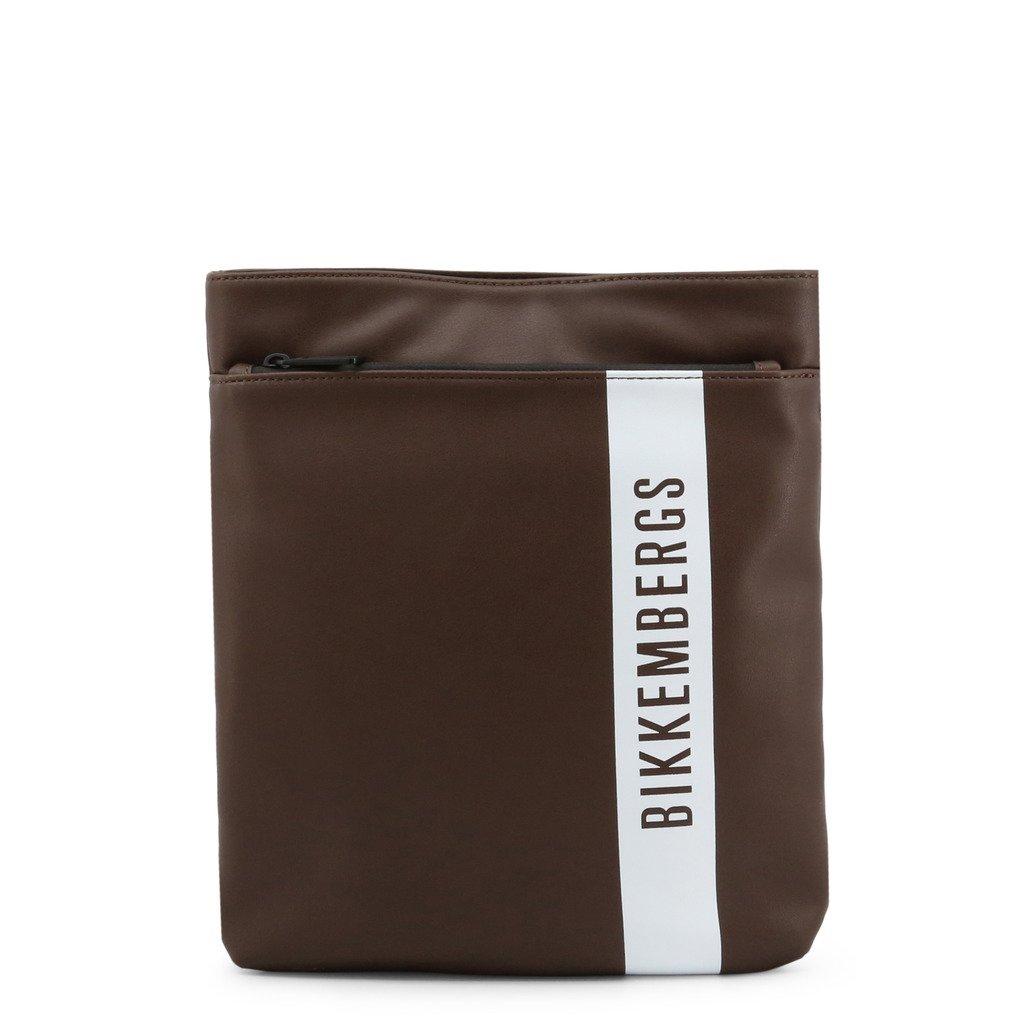 Bikkembergs Men's Crossbody Bag Brown E4APME4A0022 - brown NOSIZE