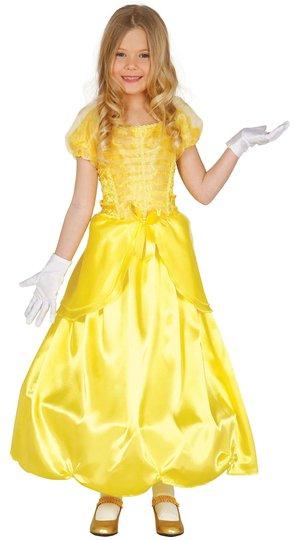 Fiestas Guirca Kostyme Prinsesse, Gul 7-9 År