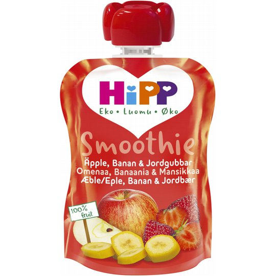 Smoothie Äpple, Banan & Jordgubb 90g - 42% rabatt