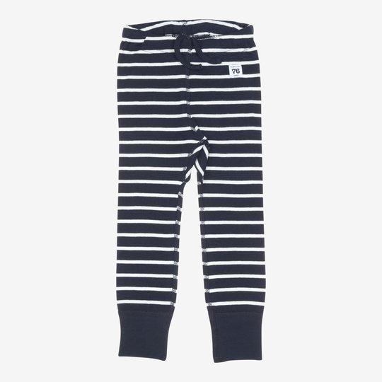 Stillongs stripet baby mørkblå