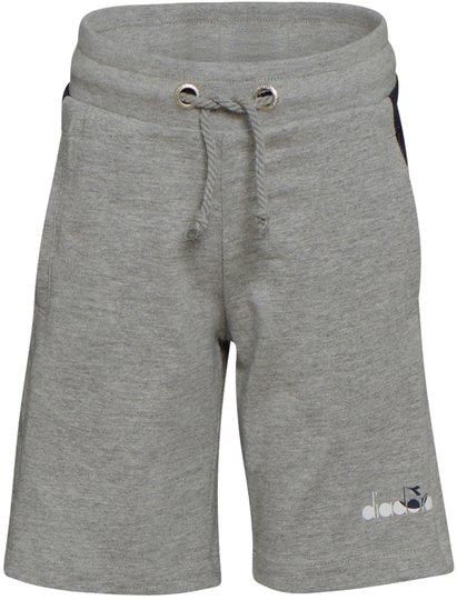 Diadora Shorts, Light Mid Grey Mel S