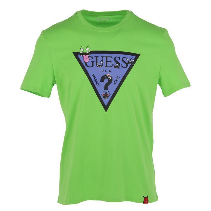Guess Men's T-Shirt Green 271602 - green XS
