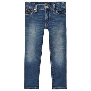Ralph Lauren Mid Wash Denim Jeans Blå 2 years