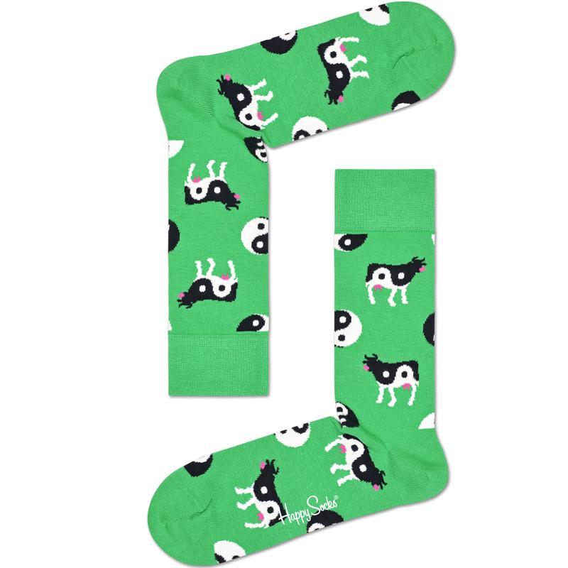 Happy Cow Sock Stl 41-46 - 40% rabatt