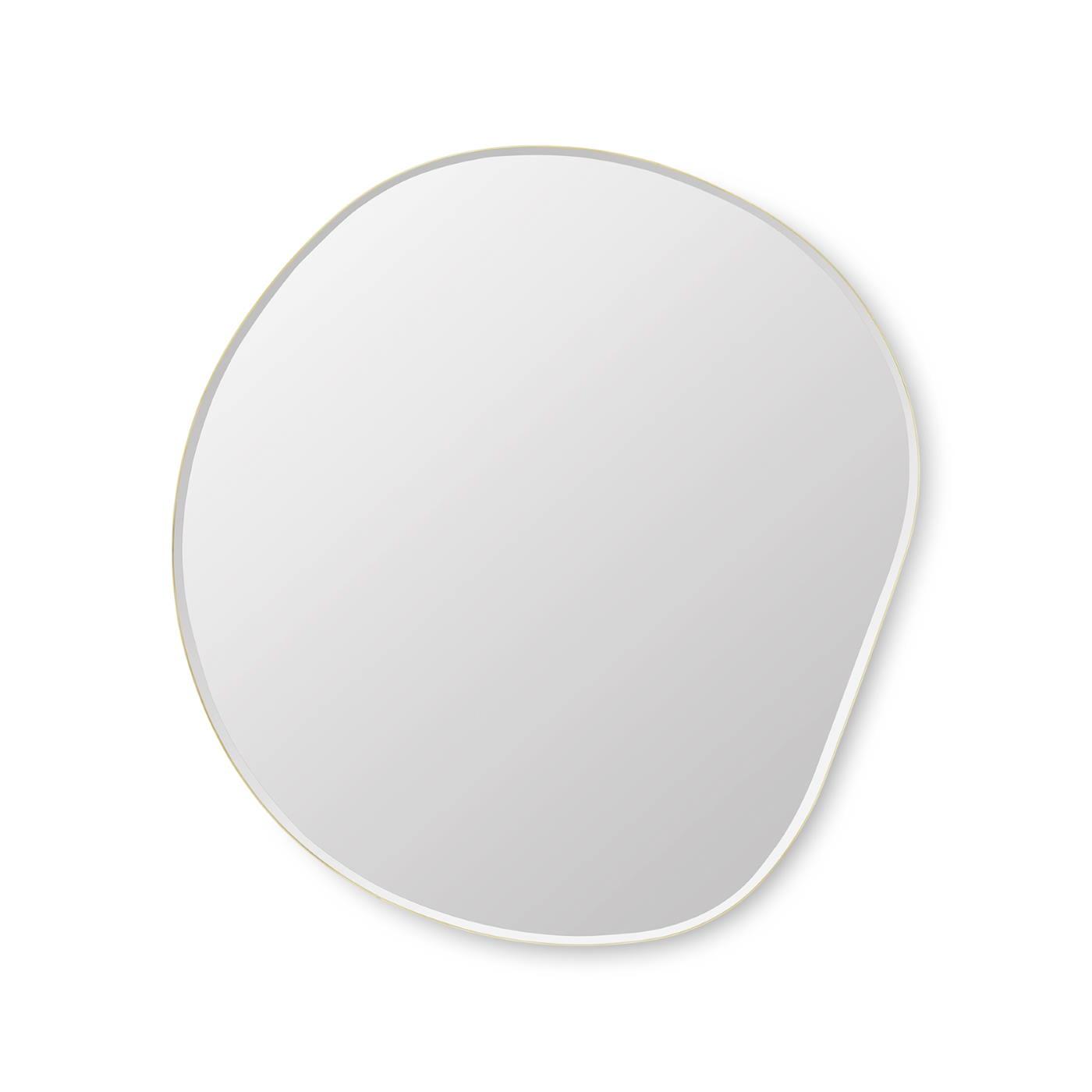 Pond Mirror XL Spegel Mässing Ferm Living