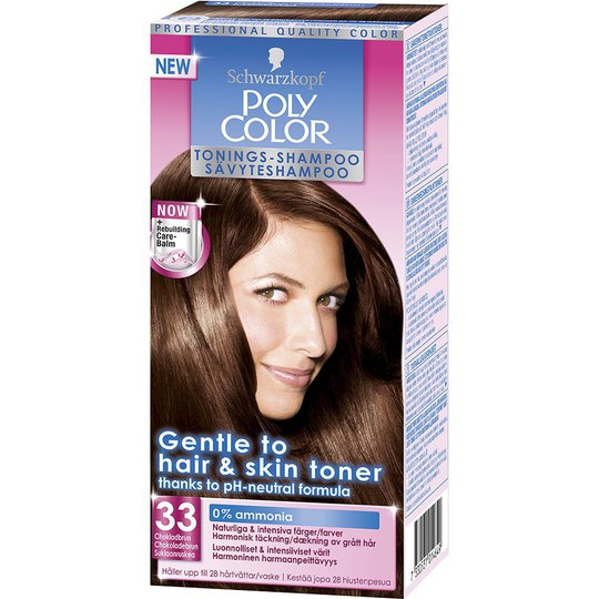 Schwarzkopf Poly Color Toning Shampoo, 33 - Chocolate Brown, Schwarzkopf Hiussävytteet