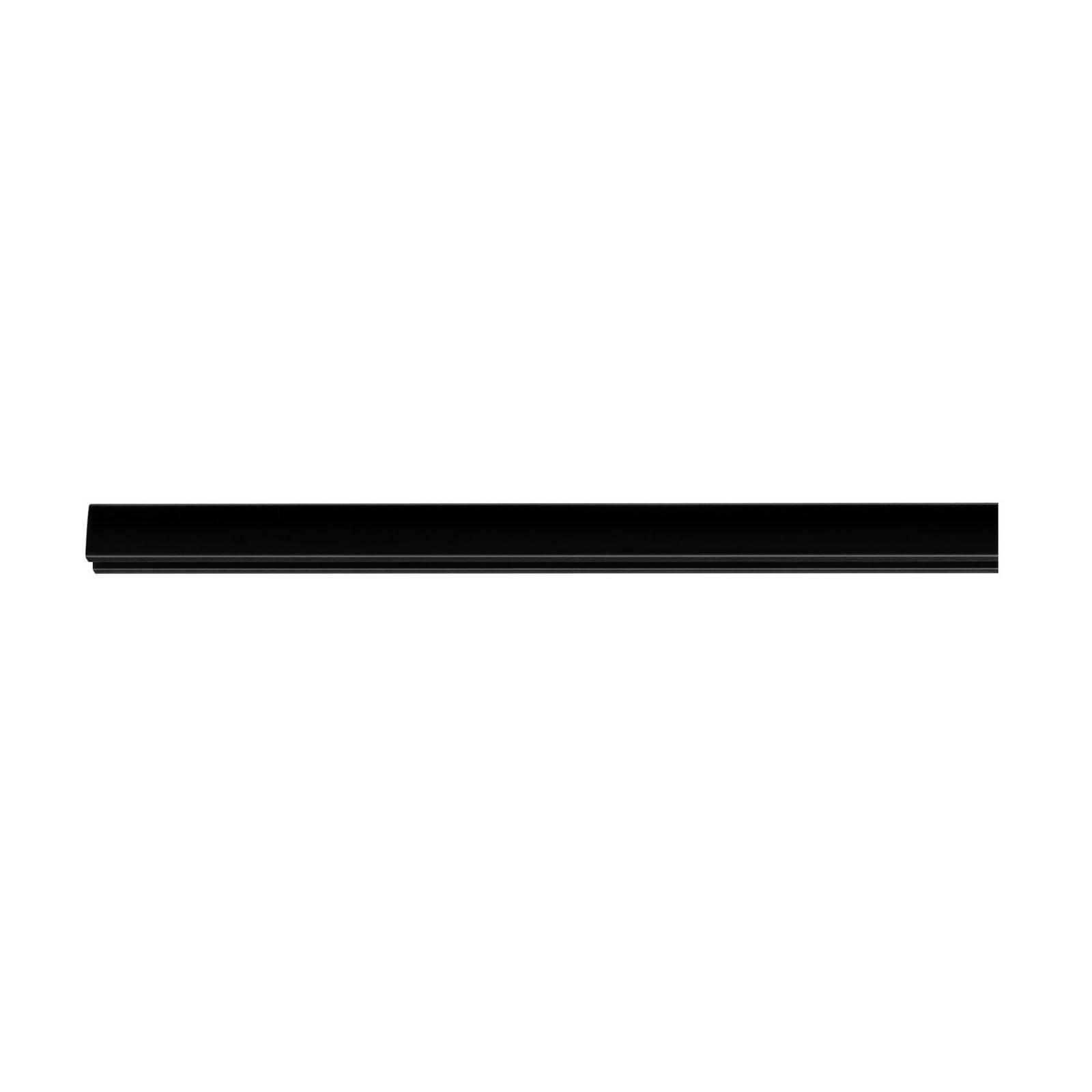 Paulmann URail System -kisko mattamusta, 100 cm