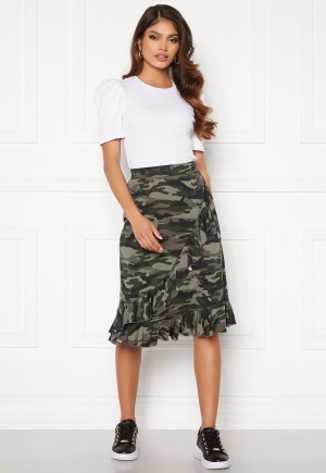 Happy Holly Sandy frill skirt Camouflage 32/34