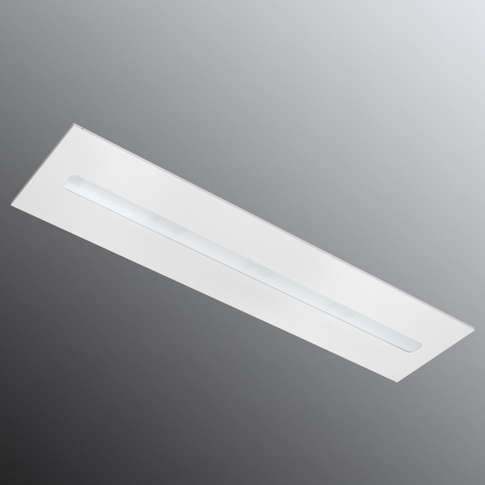 Freyn II Recessed LED-paneeli 124,5 x 31cm, 3000 K