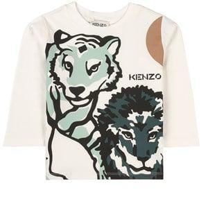 Kenzo Tiger Tröja Vit 5 år