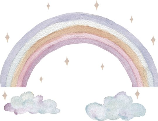 That's Mine Wallsticker Fairy Rainbow