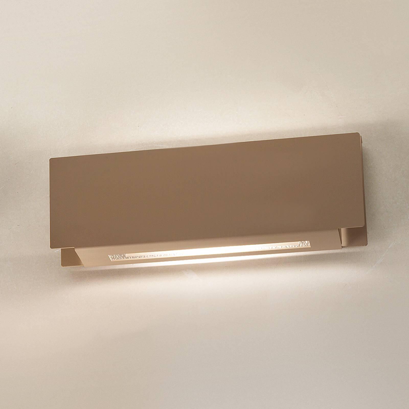Pochete - vegglampe med indirekte lys - leire