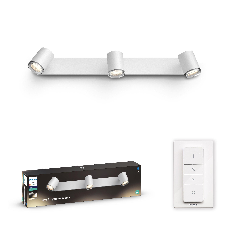Philips Hue - Adore Hue bar/tube white 3x5.5W Bathroom - White Ambiance