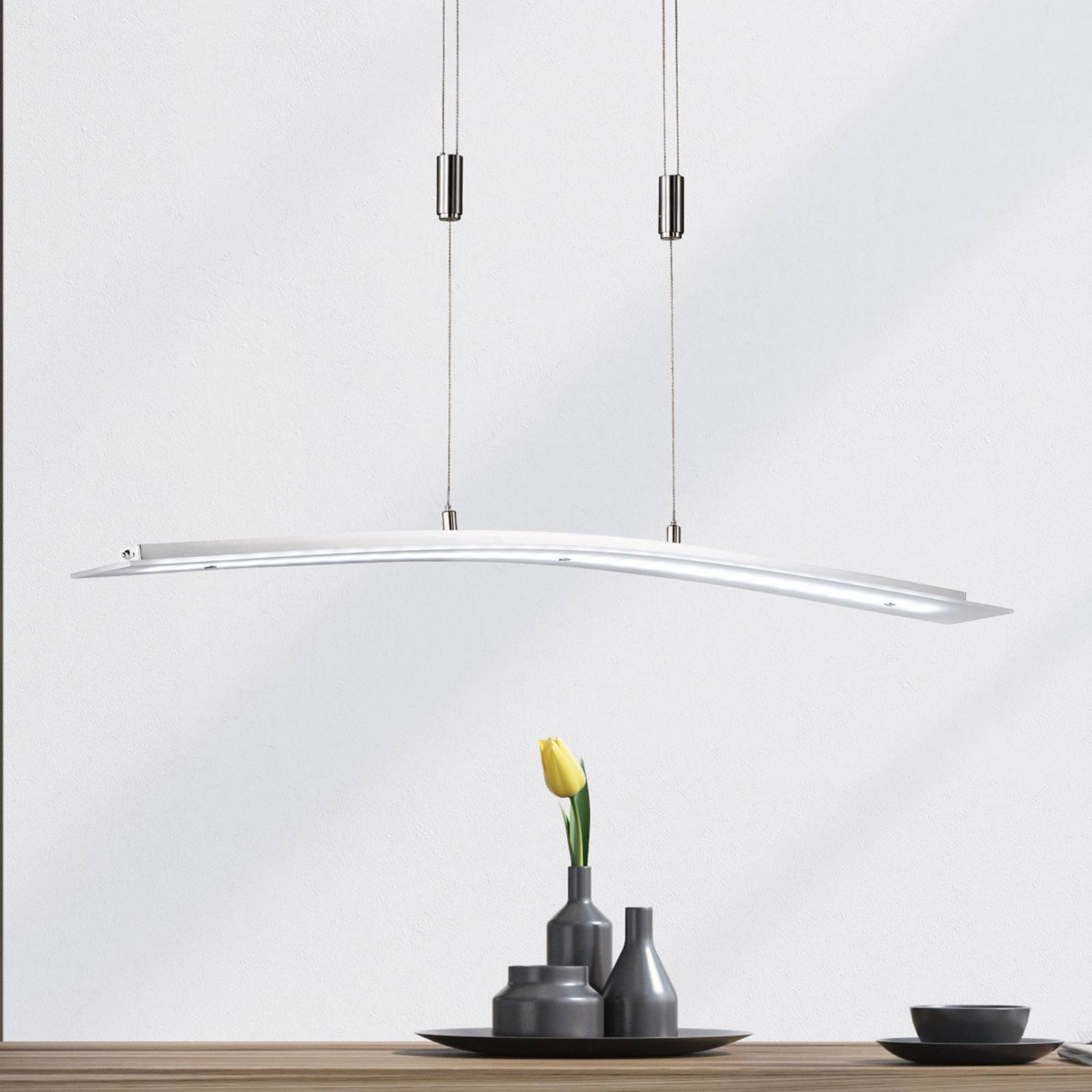 LED-riippuvalo Metis tunable white, himmennin 90cm