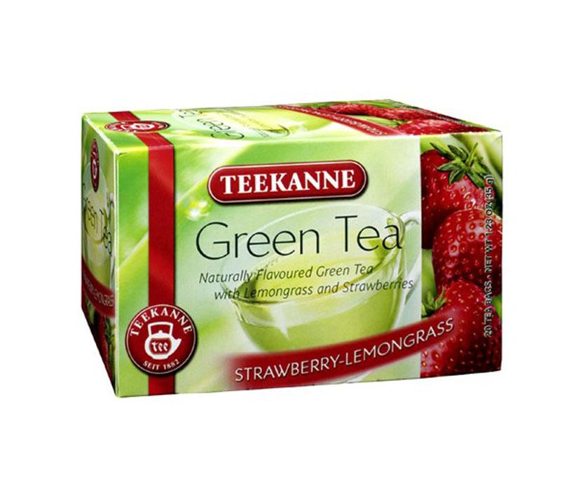 "Vihreä Tee ""Strawberry-Lemongrass"" 20-pack - 20% alennus"