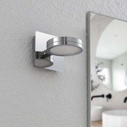 Lindby Skrolla LED-vegglampe til bad, 1 lys