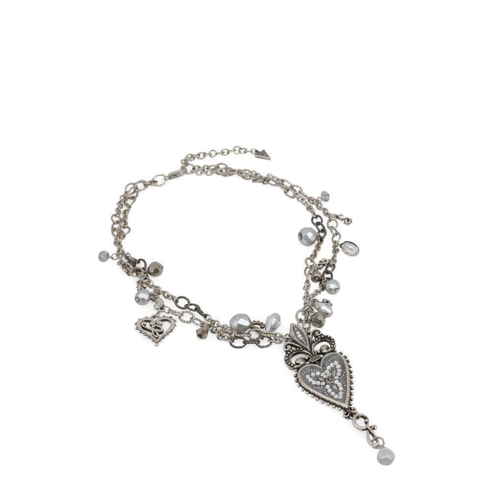 Guess Women's Necklace Grey UFN10814 - grey NOSIZE