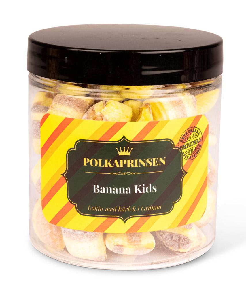 Polkaprinsen - Banana Kids 200g