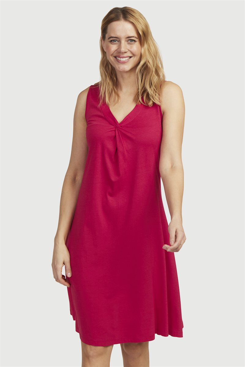 A-linjainen mekko trikoota