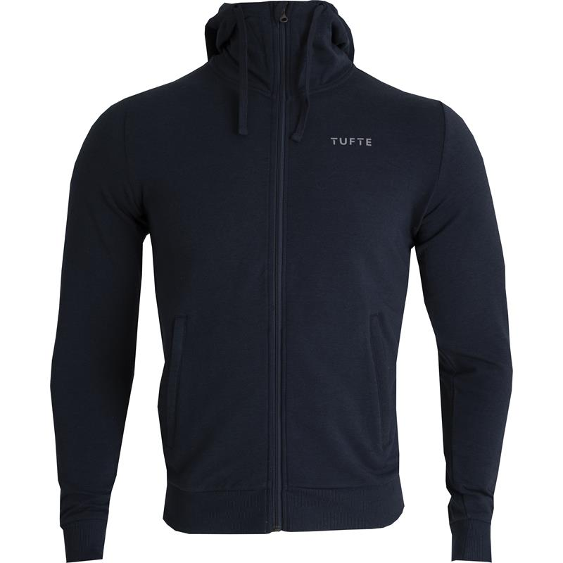 Tufte Hoodie Jacket L Hettejakke, Blueberry/Phantom