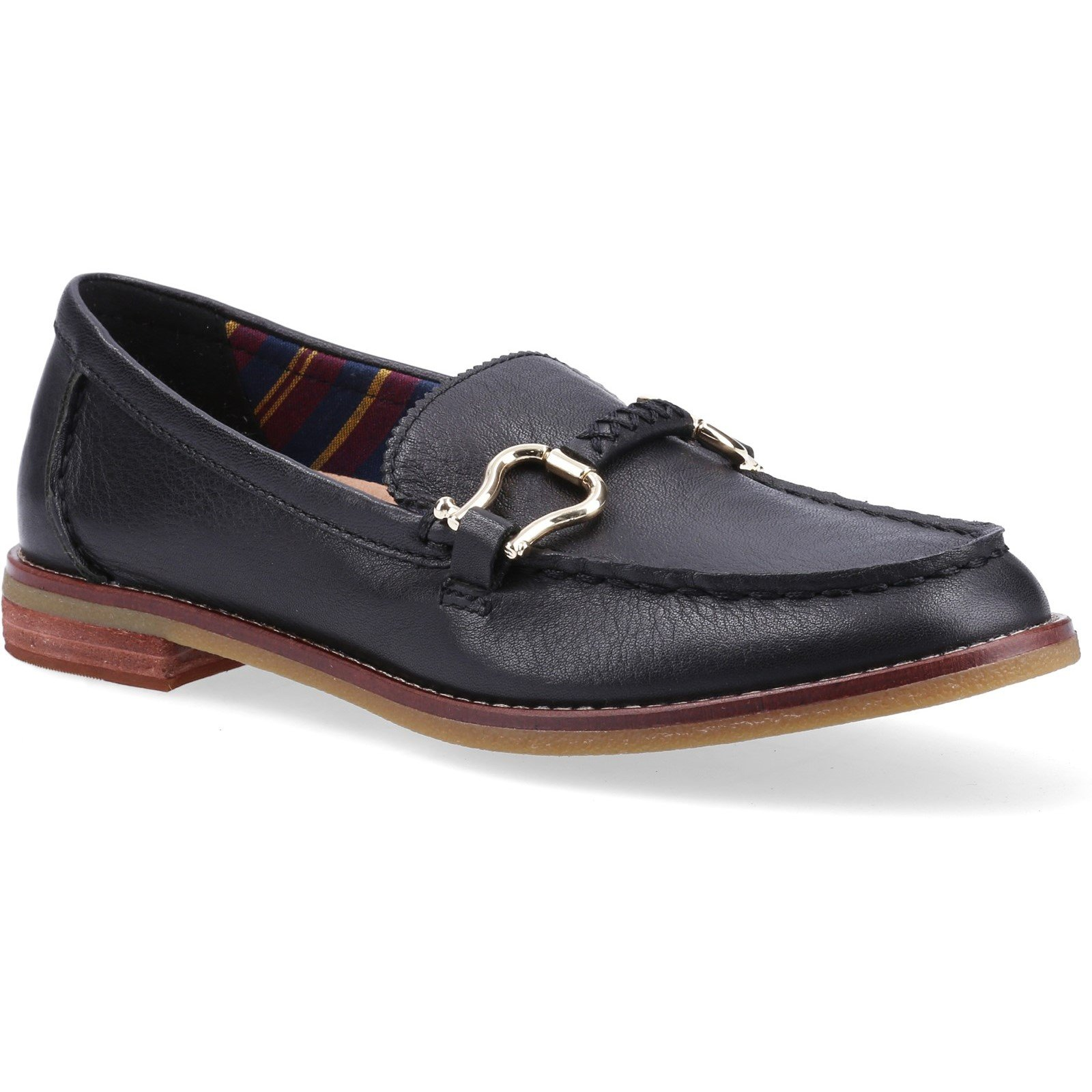 Sperry Women's Seaport Penny Plushwave Shackle Loafer Various Colours 32405 - Black 7