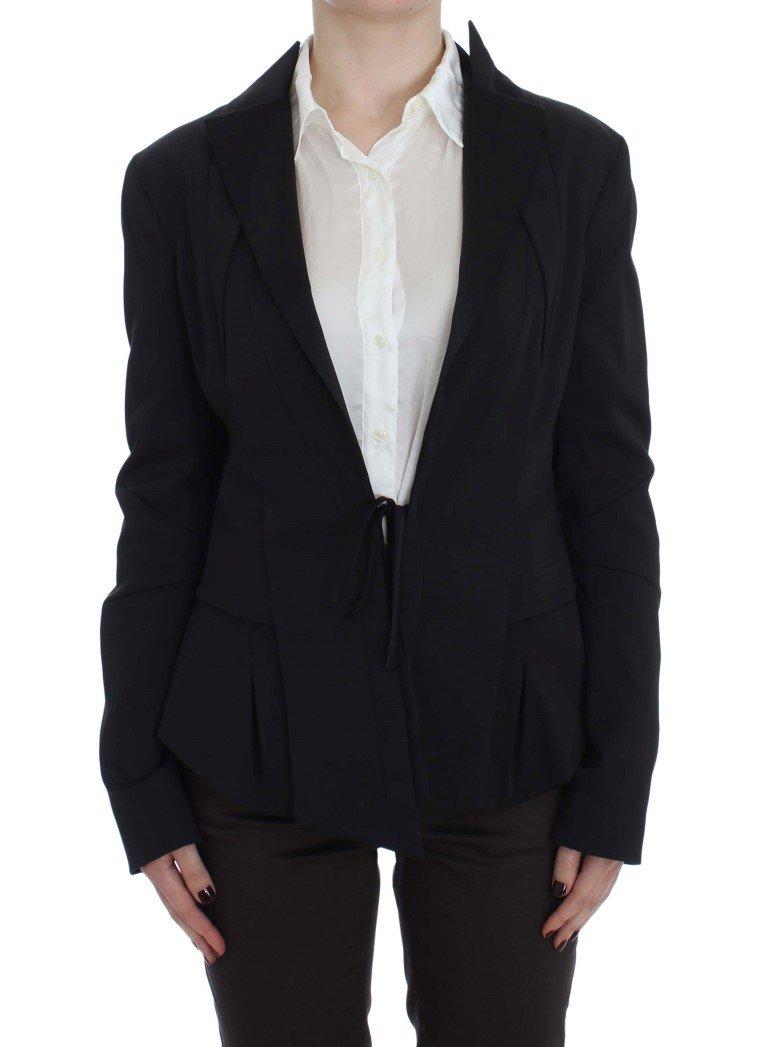 Exte Women's Stretch Single Breasted Blazer Black SIG30905 - IT42|M