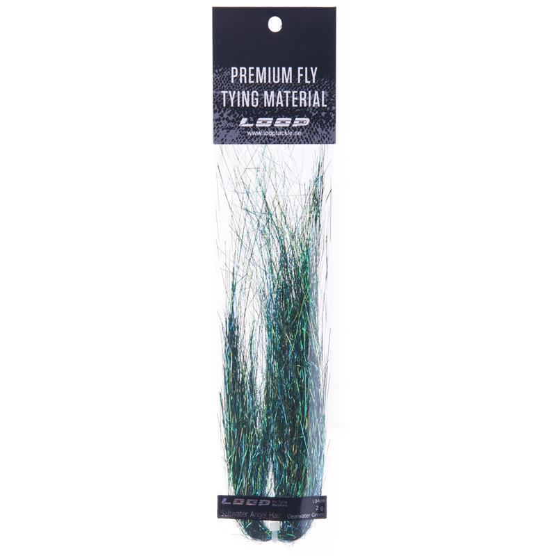 Loop SW Angel Hair 2g - Clearwater Green Perfekt til saltvannsfluer!