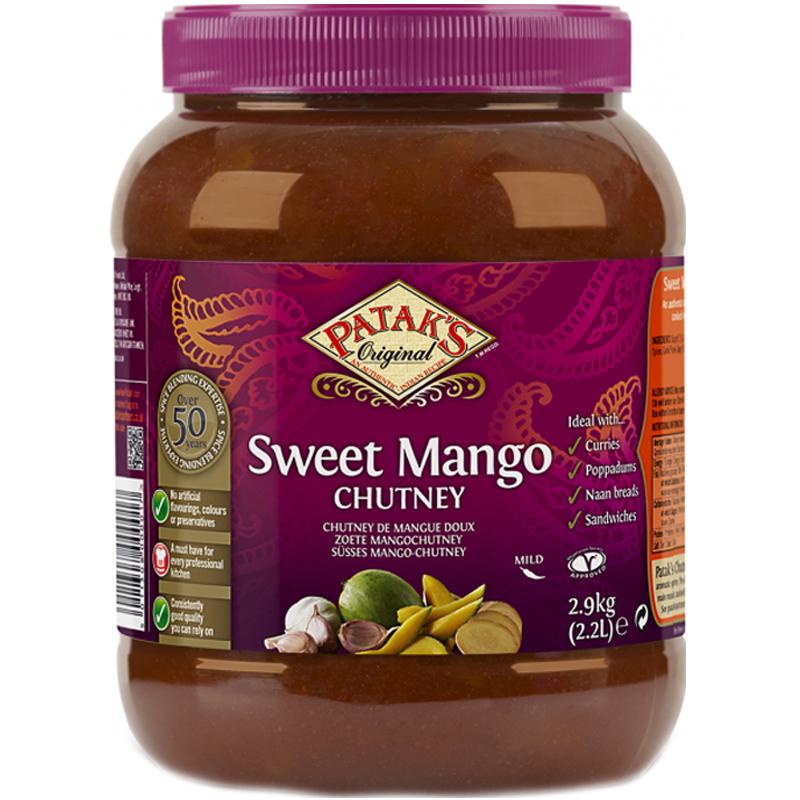 Mangochutney Sweet 2,9kg - 67% rabatt
