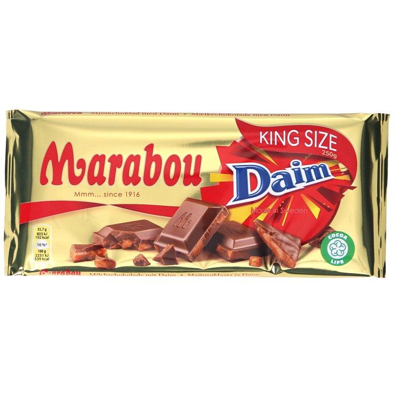 Mjölkchoklad Daim - 37% rabatt