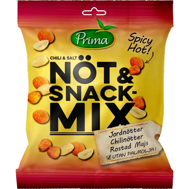 Nöt & Snackmix Chili & Salt - -28% rabatt