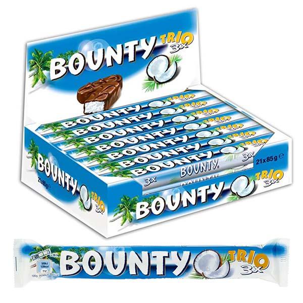 Bounty trio 85g x 21 st