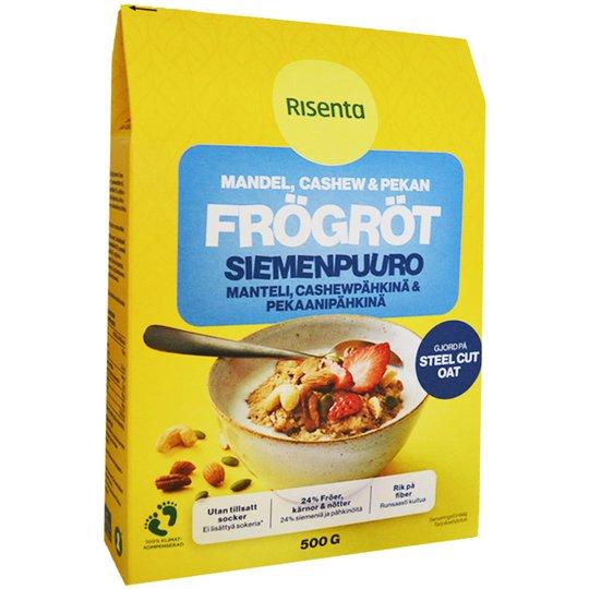 "Siemenpuuro ""Manteli, cashew & pekaani"" 500 g - 29% alennus"