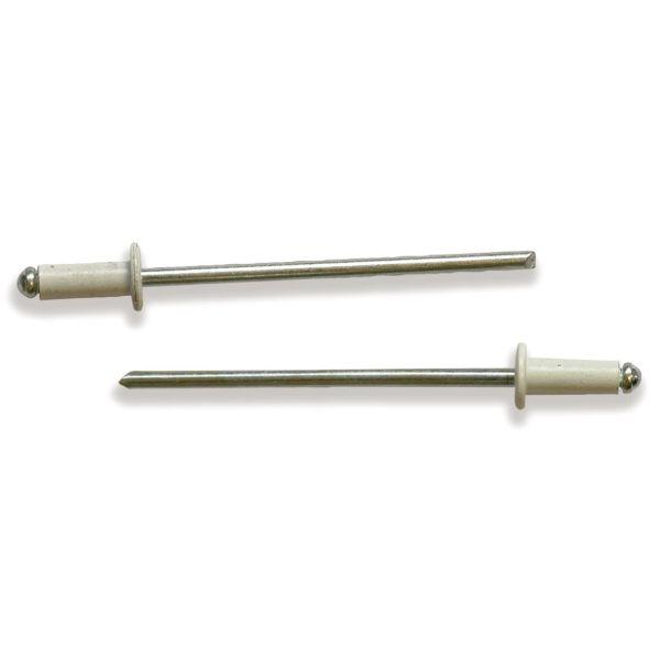 Ejot 101136 Blindnagel AVEX 1661 AL/ST 3,2 x 11,2 mm, BRUN 8016, 1000-pakning