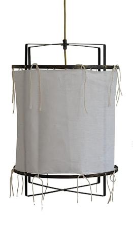 Malibu Lampskärm Vit 35 cm
