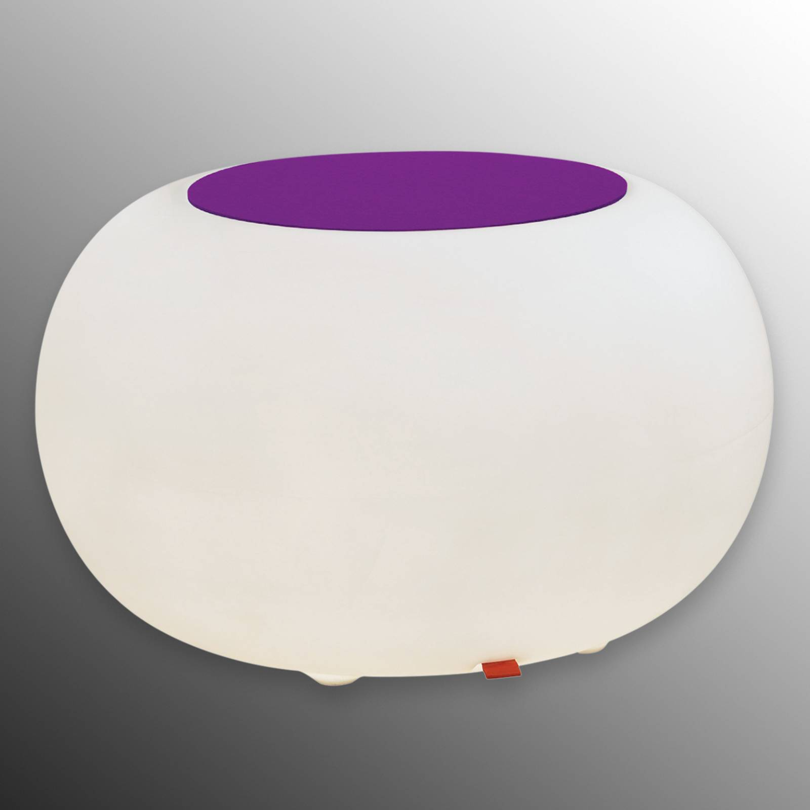 Bubble LED Accu Outdoor pöytä - huopa violetti
