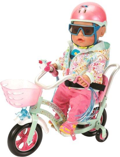 Baby Born Play & Fun Dukketilbehør Bike