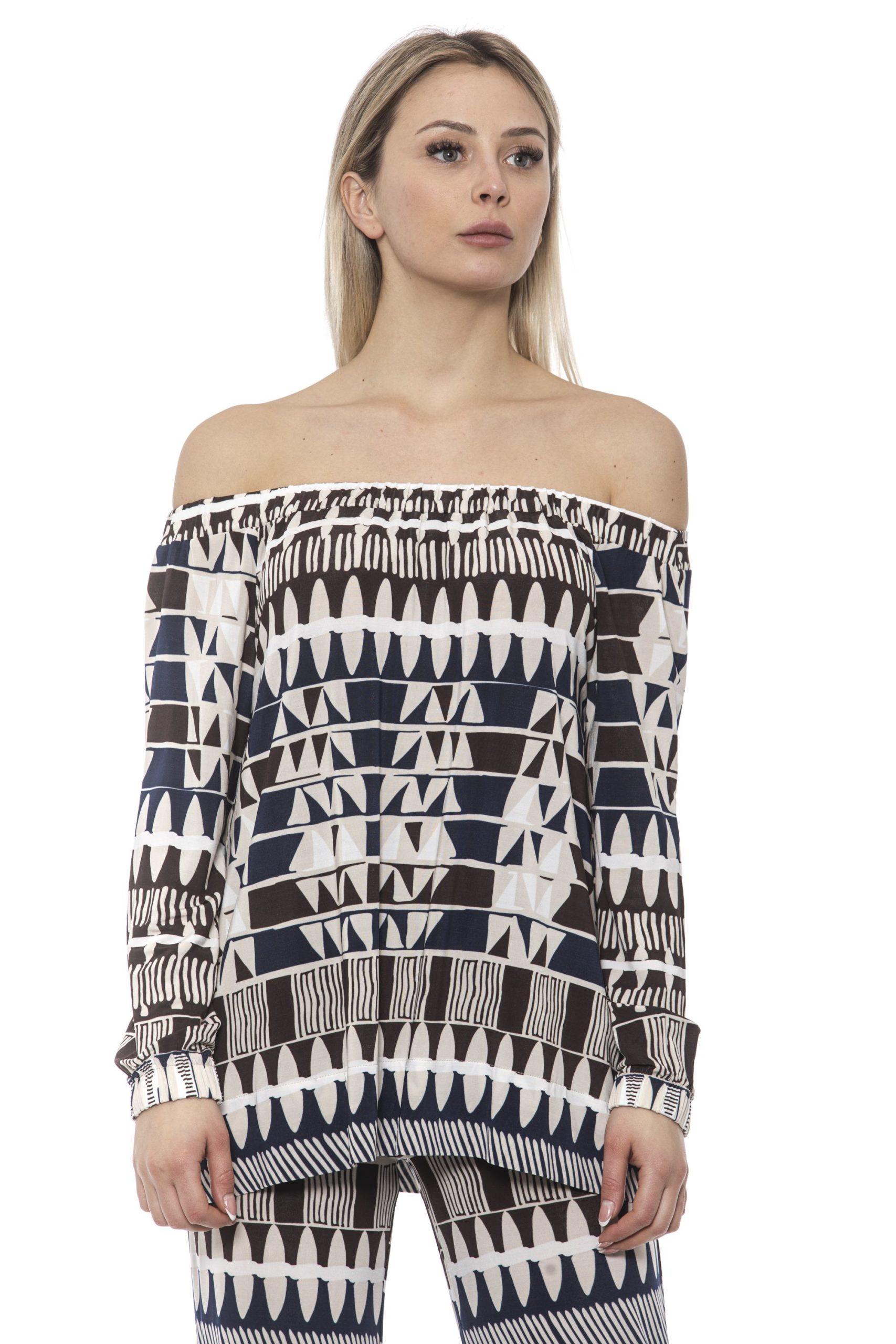 Alpha Studio Women's Blunavy Sweater Blue AL1374979 - IT40   XS