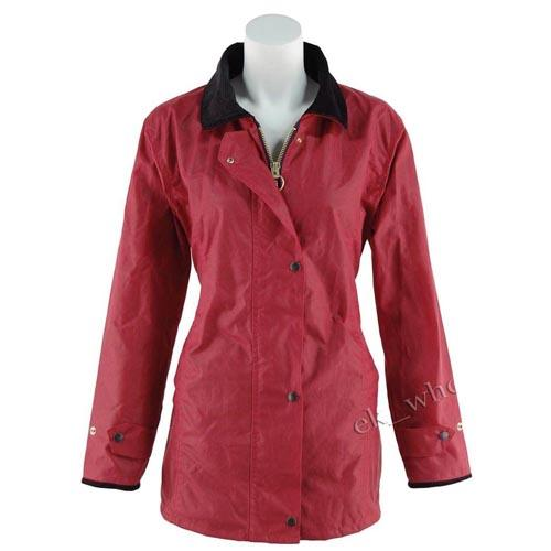 Game Technical Apparel Women's Jacket AntiqueWax - Red L