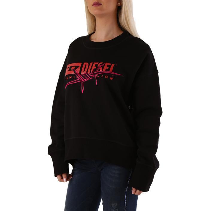 Diesel Women's Sweatshirt Black 312550 - black M