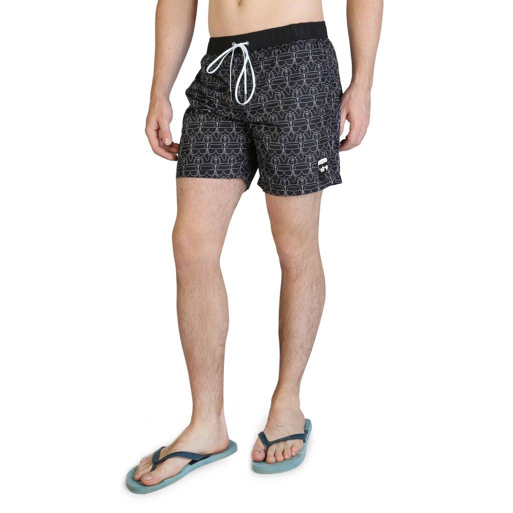 Karl Lagerfeld Men's Swimwear Various Colours KL21MBM12 - black S