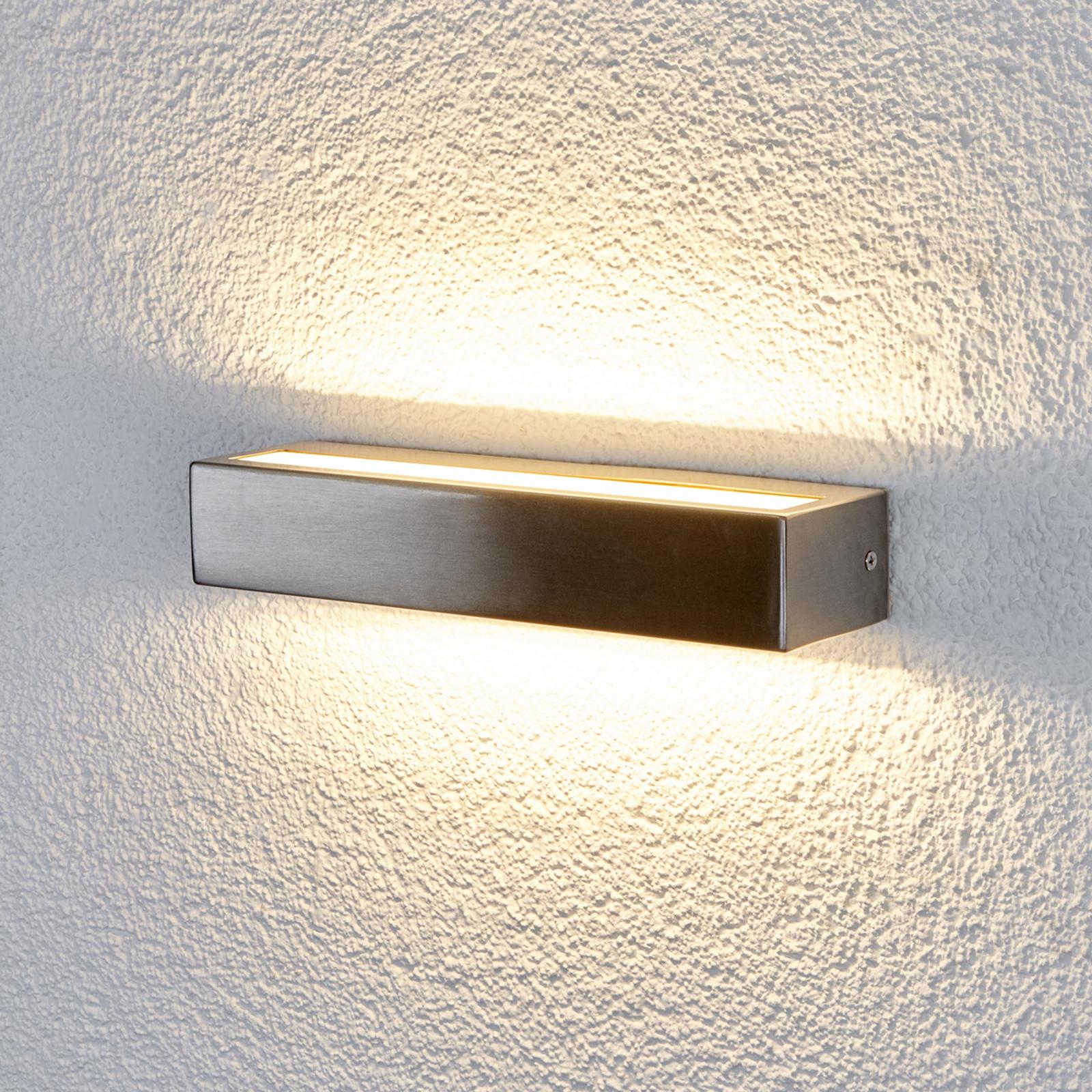 Viehättävä Jagoda-LED-seinälamppu ulkotiloihin
