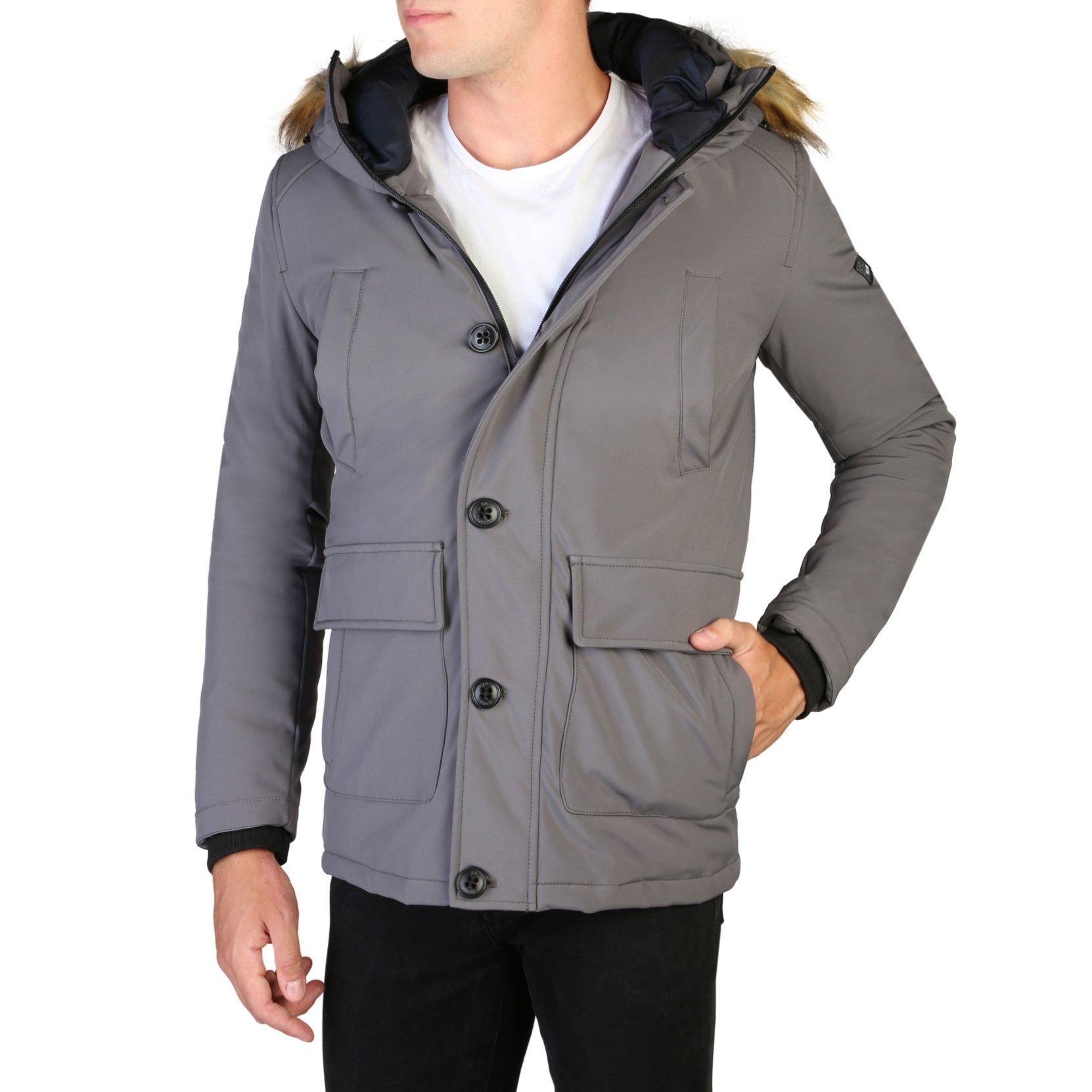 Yes Zee Men's Jacket Various Colours O836_N400 - grey S
