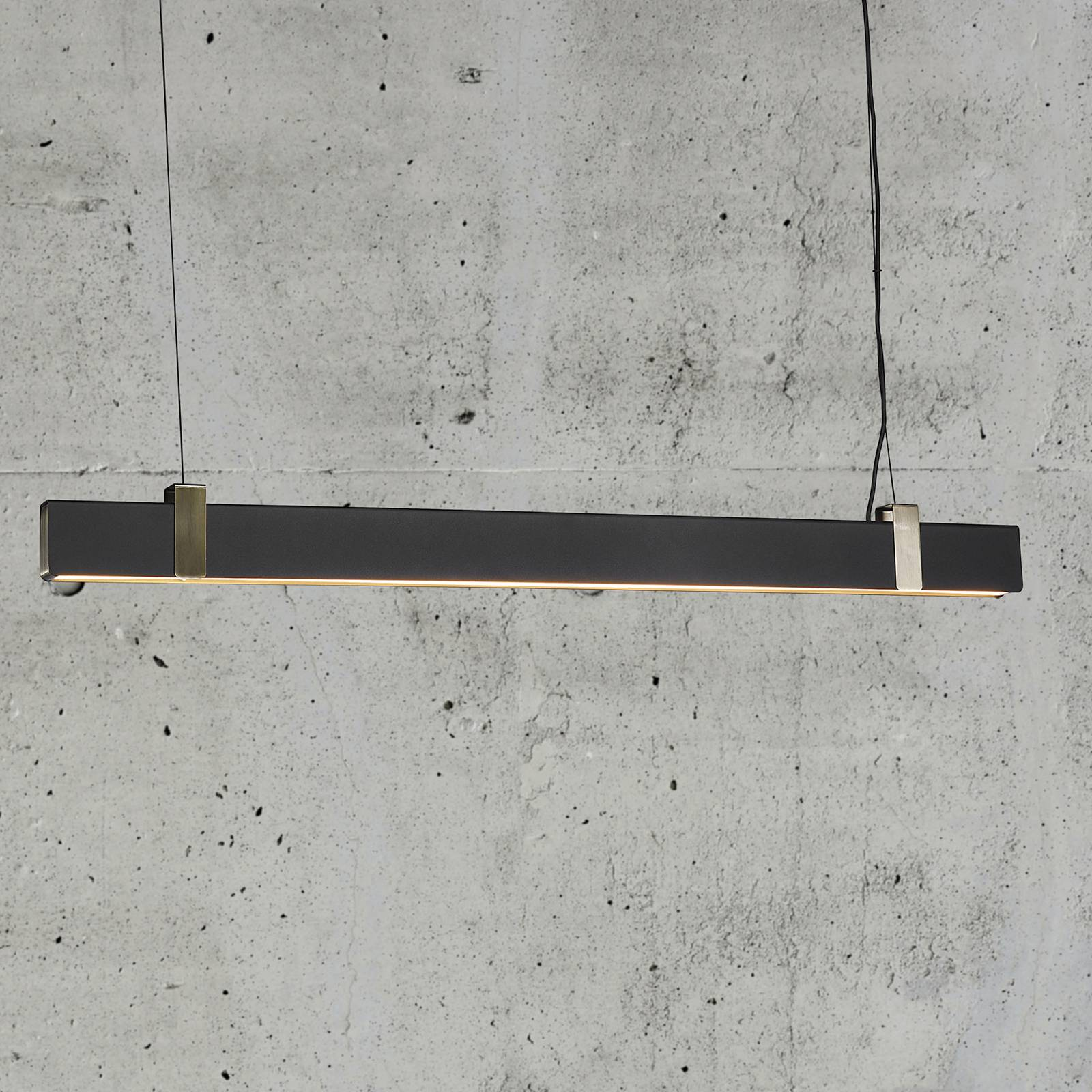 LED-riippuvalaisin Lilt, musta
