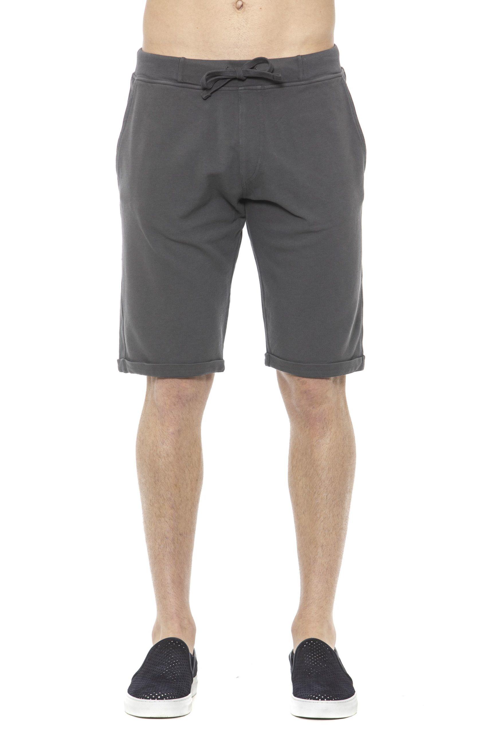 Alpha Studio Men's Titanio Short Gray AL1374381 - IT50 | L