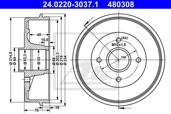 Jarrurumpu ATE 24.0220-3037.1