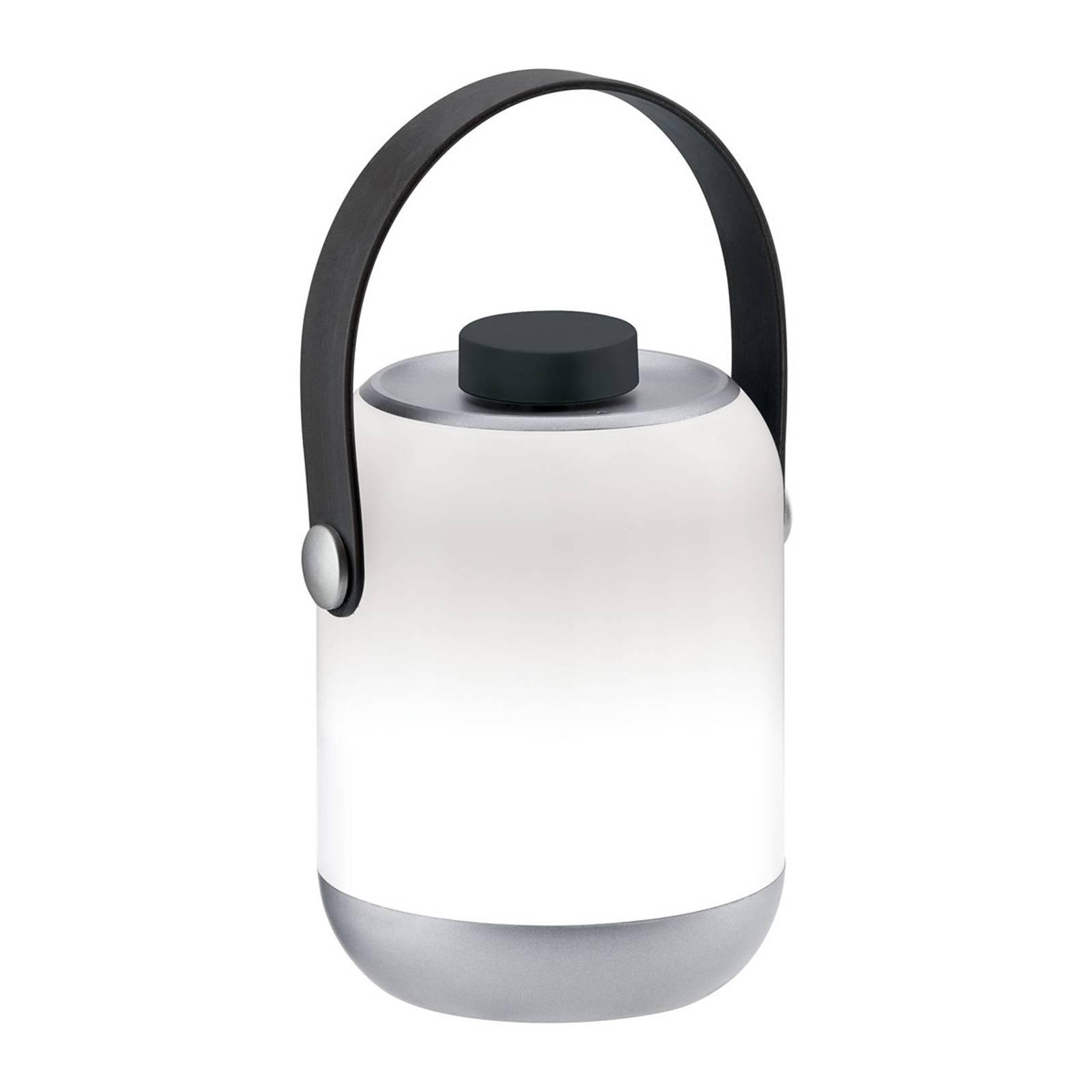 Paulmann Mobile Clutch -pöytälamppu, kromi