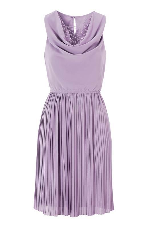 Happy Holly Klänning Aliz Lavendel